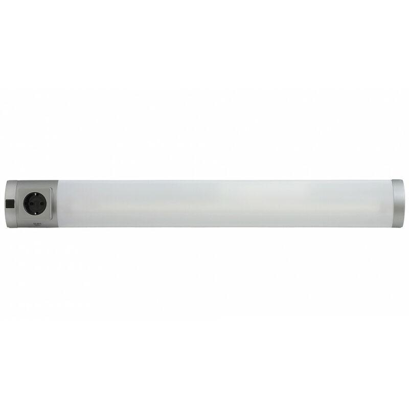 Rábalux Soft 2327 konyhapult világítás ezüst műanyag G13 T8 1x MAX 18 G13 1 db 1350 lm 2700 K IP20 A