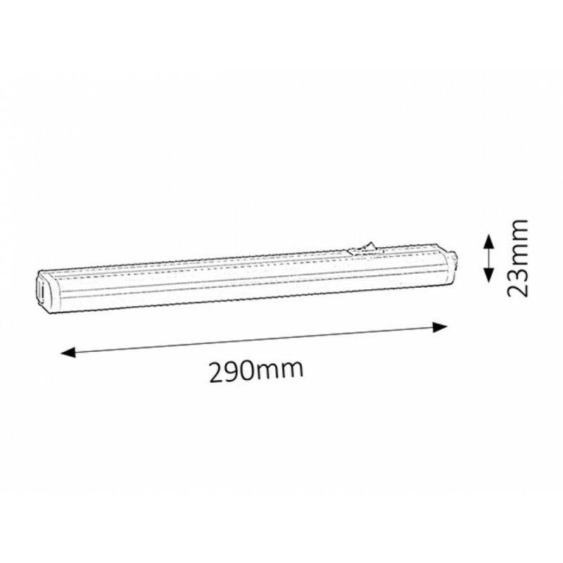 Rábalux Streak light 2388 konyhapult világítás fehér műanyag LED 4 300 lm 3000 K IP20 A+