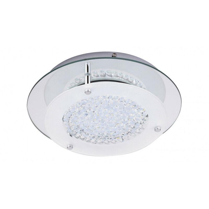 Rábalux Marion 2446 mennyezeti kristálylámpa  króm   fém   LED 12W   1080 lm  4000 K  IP20   A+