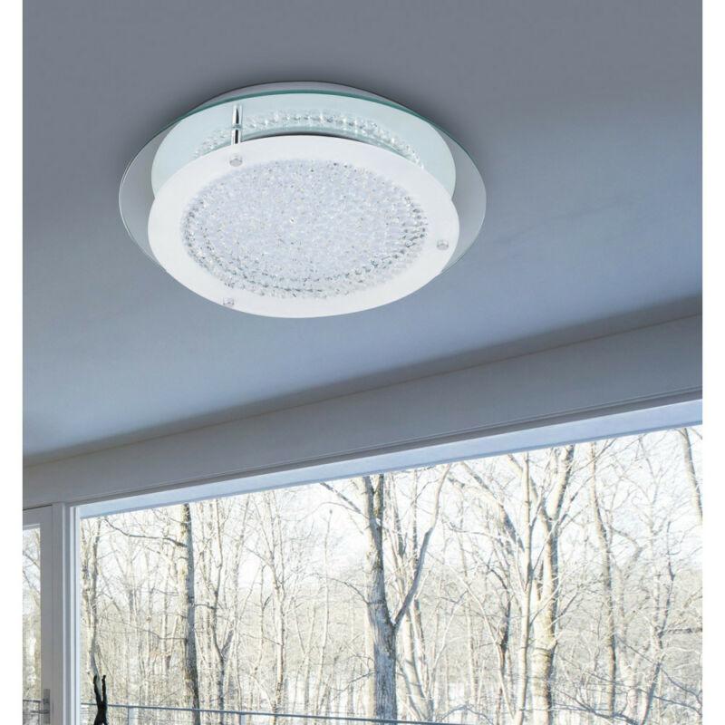 Rábalux Marion 2447 mennyezeti kristálylámpa króm fém LED 18 1620 lm 4000 K IP20 F