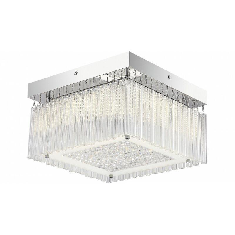 Rábalux Marcella 2451 mennyezeti kristálylámpa króm fém LED 18 1550 lm 4000 K IP20 A+