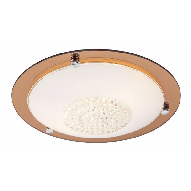 Rábalux Patricia 2466 ufó lámpa átlátszó fém E27 2x MAX 40 E27 2 db IP20