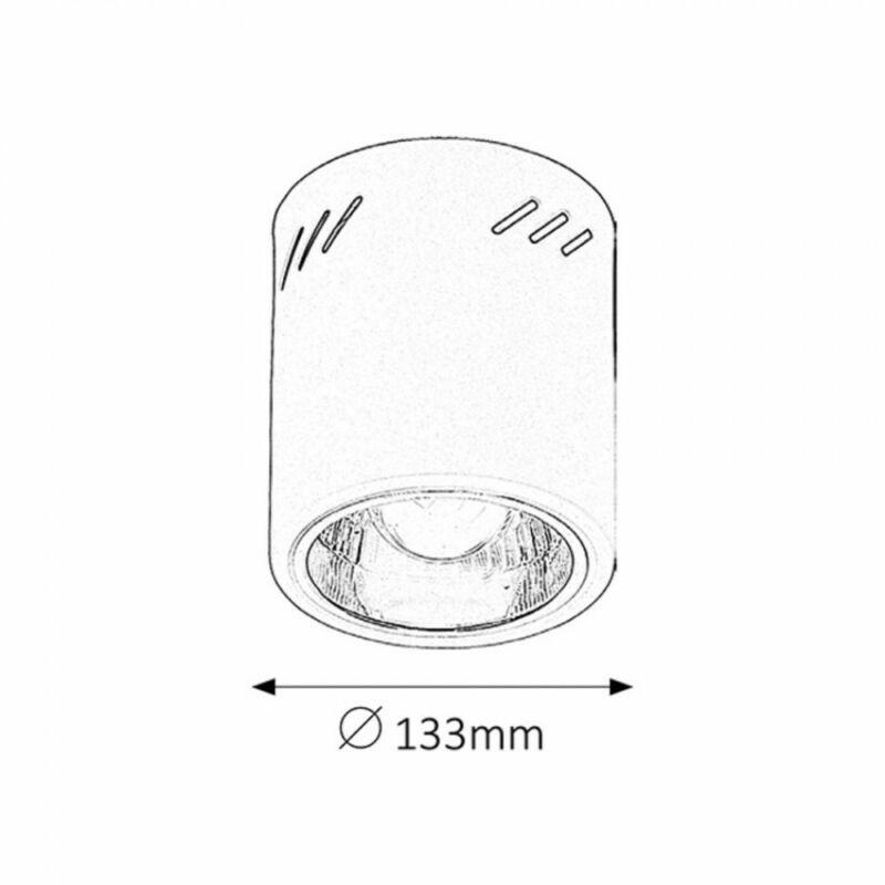 Rábalux Donald 2484 mennyezeti lámpa matt fehér fém E27 1x MAX 60 E27 1 db IP20