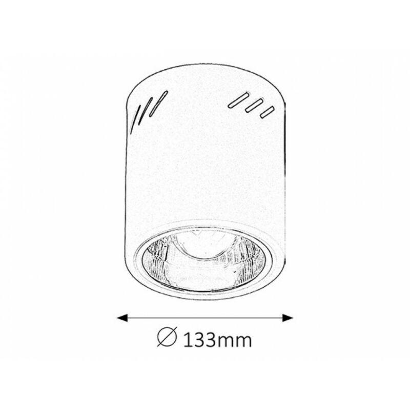 Rábalux Donald 2484 mennyezeti lámpa  matt fehér   fém   E27 1x MAX 60W   IP20