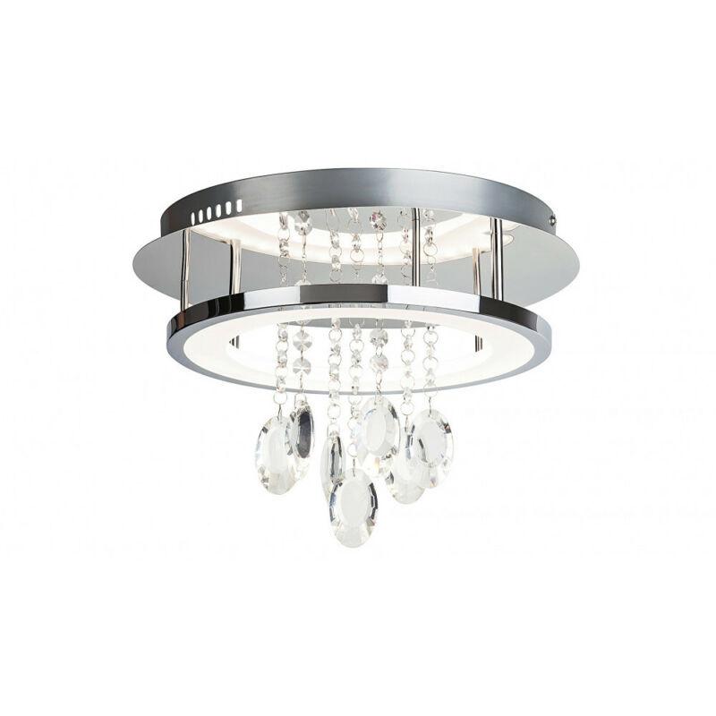 Rábalux Romina 2501 mennyezeti lámpa  króm   fém   LED 24W   2000 lm  4000 K  IP20   A+