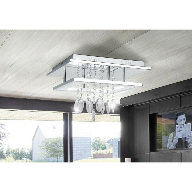 Rábalux Romina 2502 mennyezeti lámpa  króm   fém   LED 24W   2000 lm  4000 K  IP20   A+