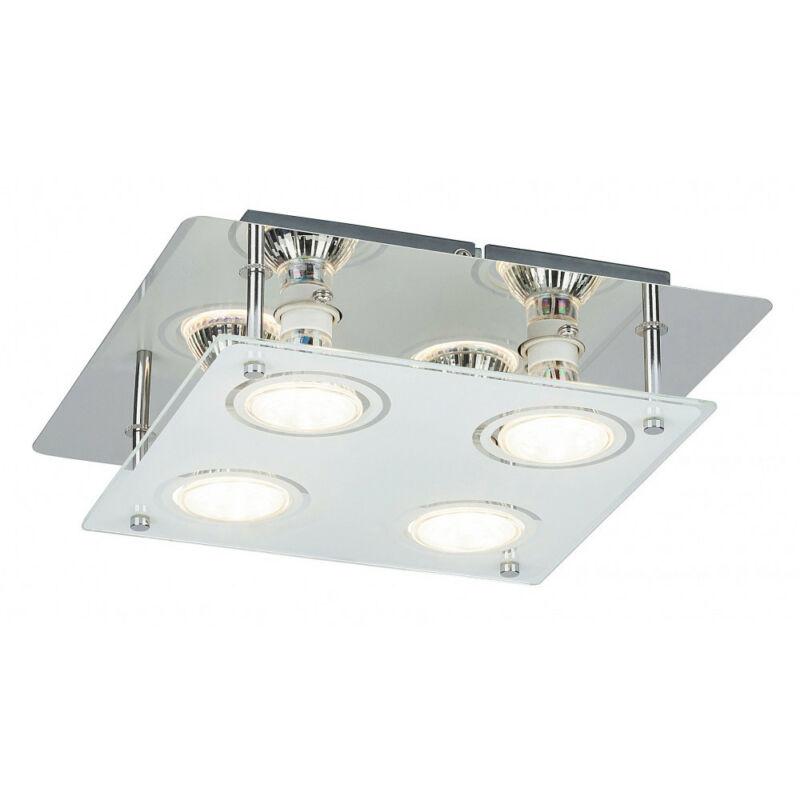 Rábalux Naomi 2511 mennyezeti lámpa króm fém GU10 4x MAX 15 GU10 4 db 400 lm 3000 K IP20 A+