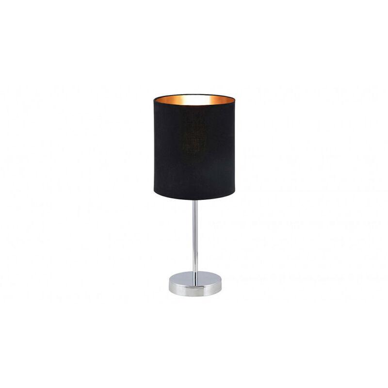 Rábalux Monica 2523 éjjeli asztali lámpa fekete fém E27 1x MAX 60W E27 1 db IP20