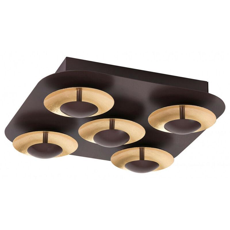 Rábalux Brigitte 2557 mennyezeti lámpa  barna   fém   LED 5x 5W   2000 lm  3000 K  IP20   A+