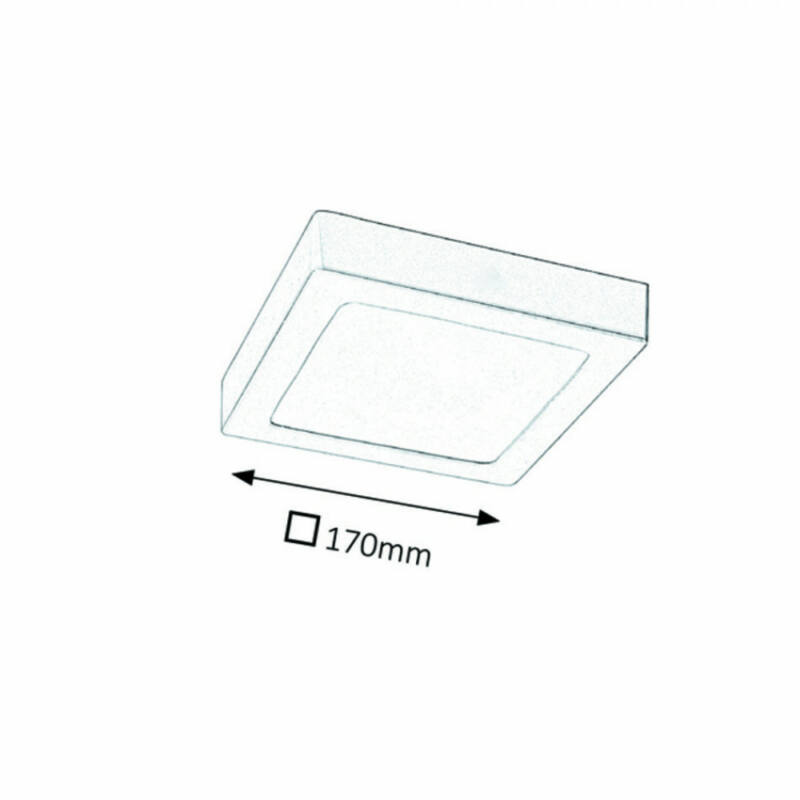 Rábalux Lois 2663 irodai led világítás matt fehér fém LED 12 800 lm 4000 K IP20 G