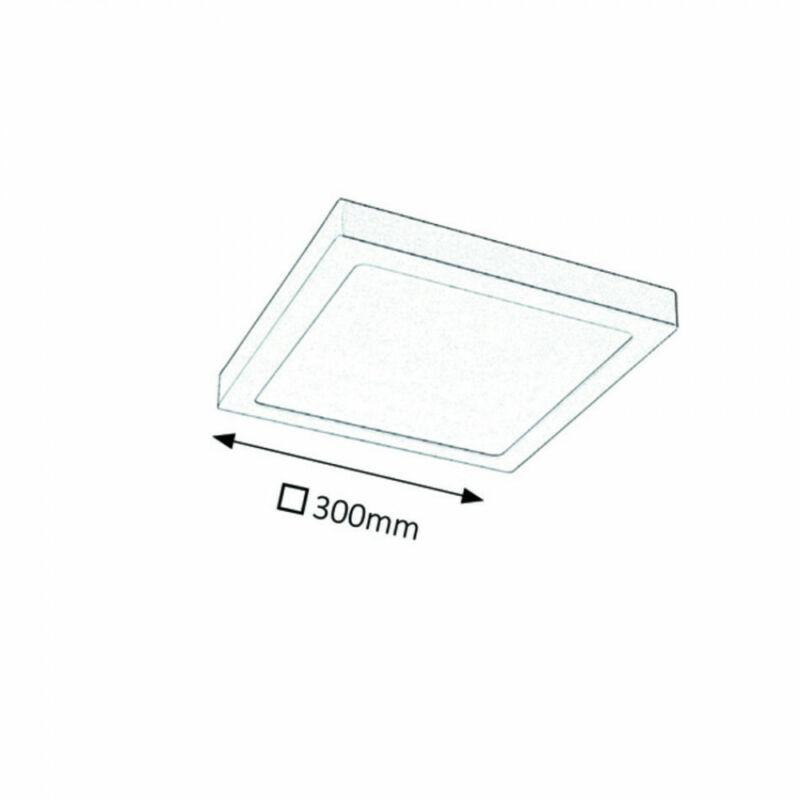 Rábalux Lois 2669 irodai led világítás szatin króm fém LED 24 1700 lm 3000 K IP20 G