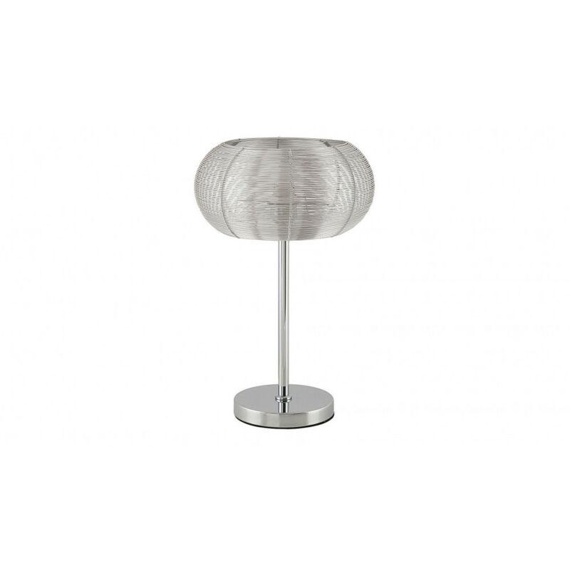 Rábalux Meda 2907 éjjeli asztali lámpa ezüst fém E27 1x MAX 60 E27 1 db IP20