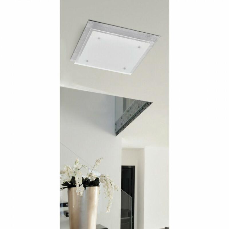 Rábalux June 3031 mennyezeti lámpa  ezüst fólia   fém   LED 24W   1920 lm  4000 K  IP20   A+