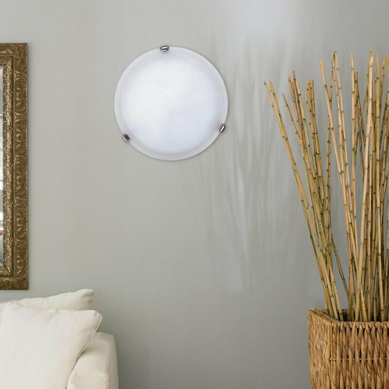 Rábalux Alabastro 3202 ufó lámpa fehér alabástrom üveg fém E27 1x MAX 60 E27 1 db IP20
