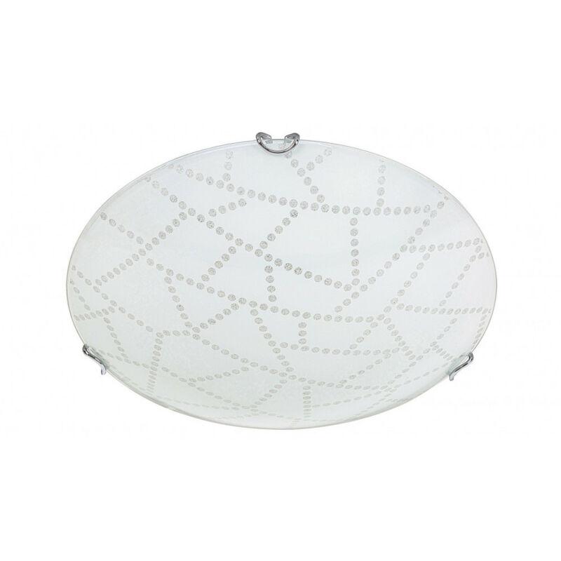 Rábalux Emory 3226 ufó lámpa fehér mintás fém LED 18 1440 lm 3000 K IP20 A+