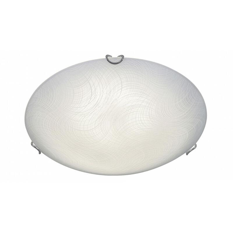 Rábalux Tanner 3229 ufó lámpa  fehér mintás   fém   LED 12W   960 lm  4000 K  IP20   A+