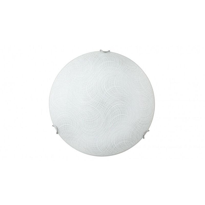 Rábalux Tanner 3231 ufó lámpa  fehér mintás   fém   LED 18W   1440 lm  4000 K  IP20   A+