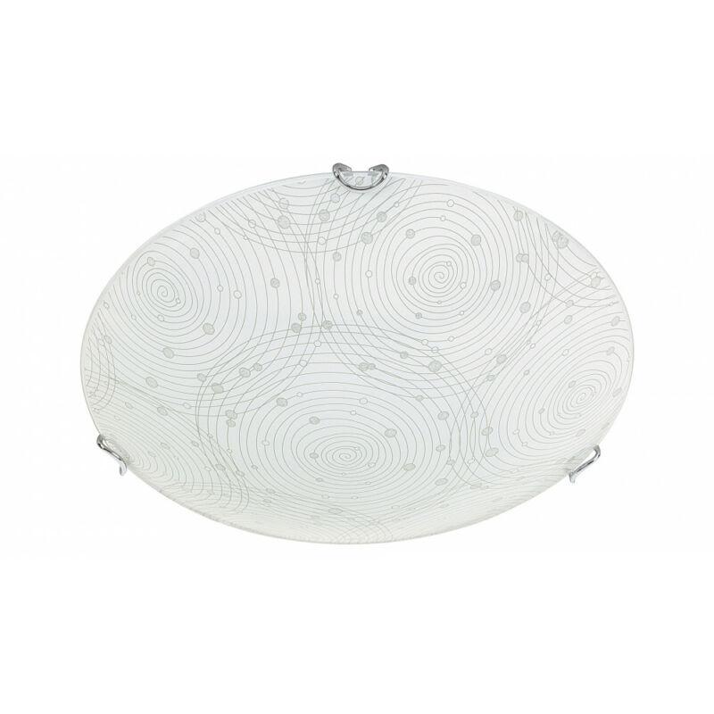 Rábalux Andra 3234 ufó lámpa fehér mintás fém LED 12 960 lm 4000 K IP20 A+