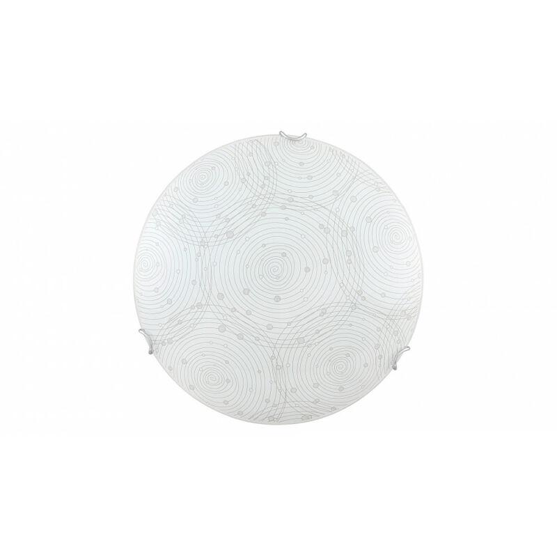 Rábalux Andra 3236 ufó lámpa  fehér mintás   fém   LED 18W   1440 lm  4000 K  IP20   A+