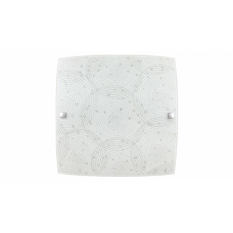 Rábalux Andra 3237 mennyezeti lámpa  fehér mintás   fém   LED 12W   960 lm  4000 K  IP20   A+