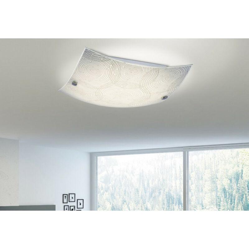 Rábalux Andra 3238 mennyezeti lámpa  fehér mintás   fém   LED 18W   1440 lm  4000 K  IP20   A+