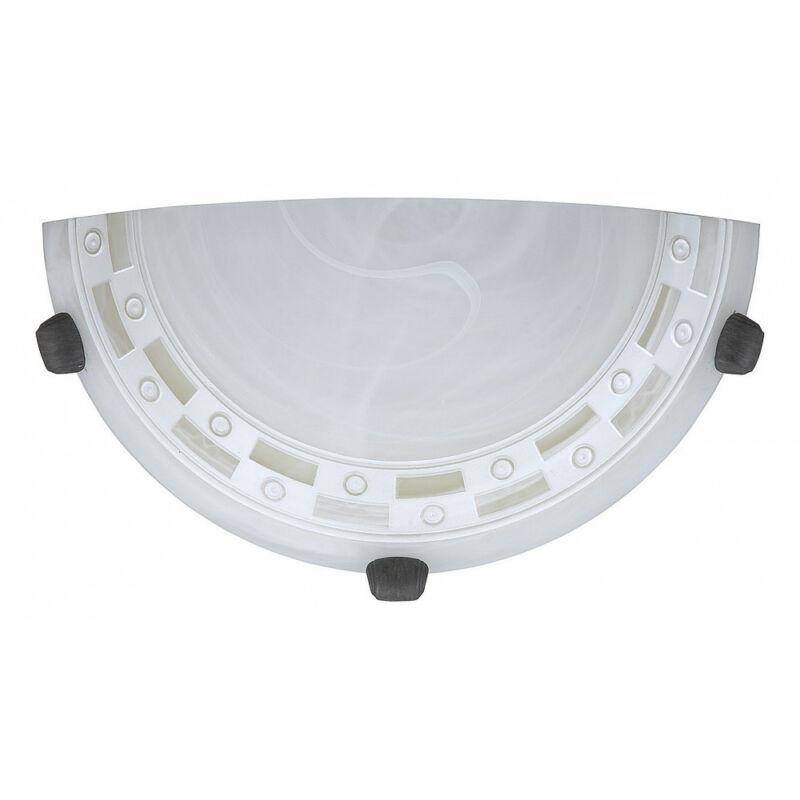 Rábalux Tom 3481 fél ufo mintás alabástrom fém E27 1x MAX 60 E27 1 db IP20