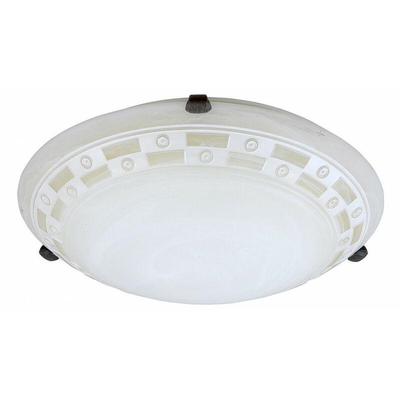 Rábalux Tom 3484 ufó lámpa mintás alabástrom fém E27 2x MAX 60 E27 2 db IP20