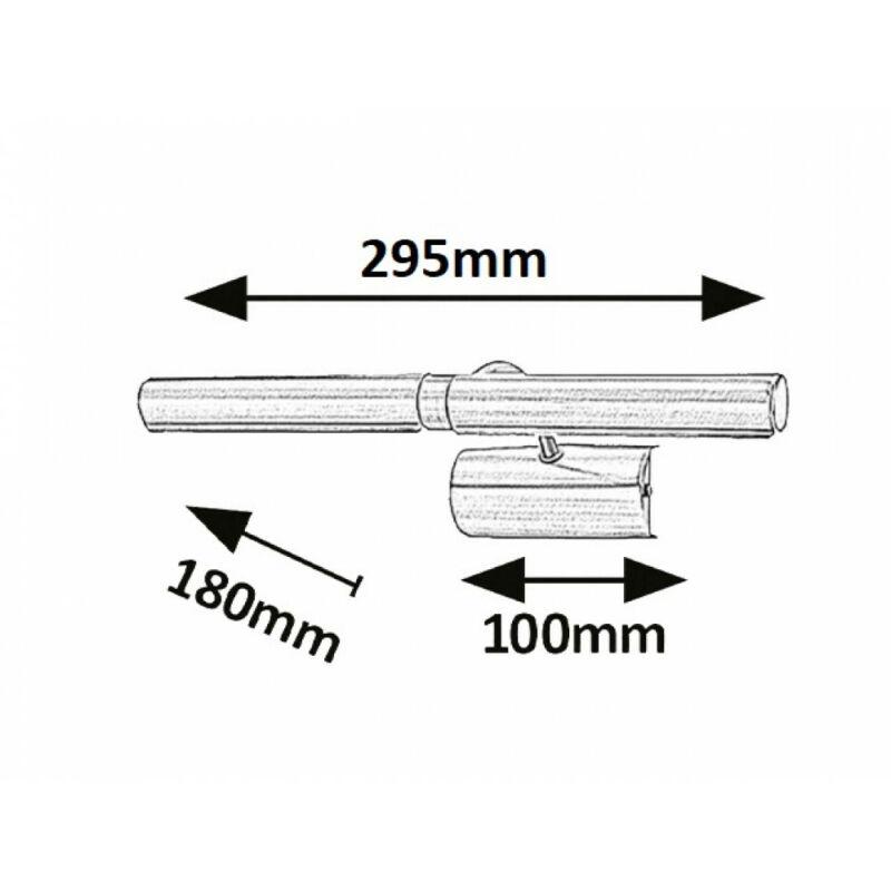 Rábalux Picture light 3643 képmegvilágító lámpa szatin króm fém G9 2x MAX 40 G9 2 db 370 lm 2700 K IP20 C