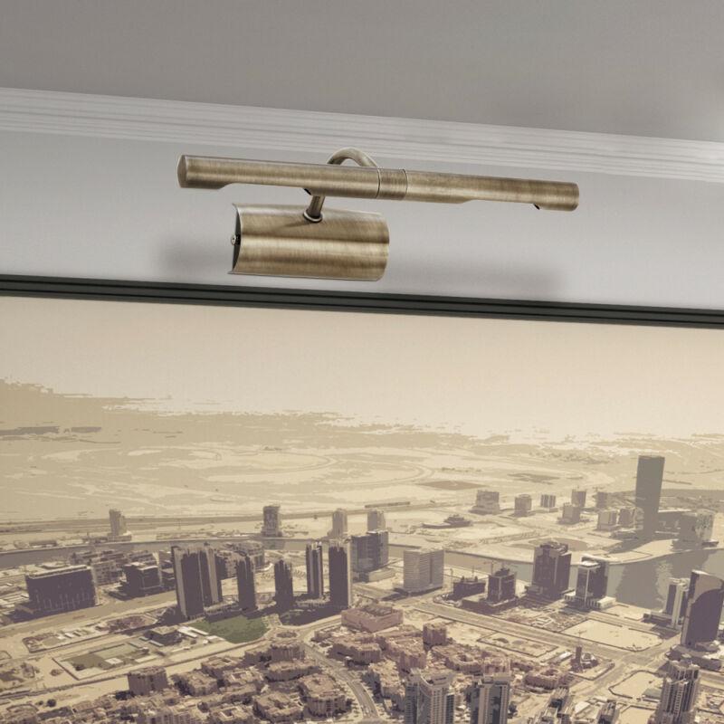 Rábalux Picture light 3644 képmegvilágító lámpa bronz fém G9 2x MAX 40 G9 2 db 370 lm 2700 K IP20 C