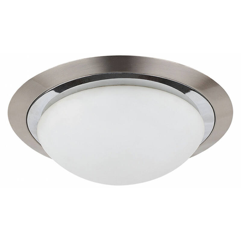 Rábalux Princessa 3663 mennyezeti lámpa  szatin króm   fém   E27 2x MAX 40W   IP20