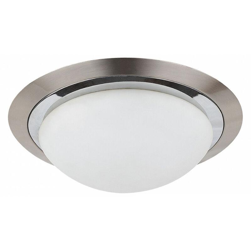 Rábalux Princessa 3663 mennyezeti lámpa szatin króm fém E27 2x MAX 40 E27 2 db IP20