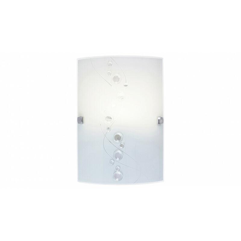 Rábalux Ruby 3754 fali lámpa fehér mintás fém E27 1x MAX 60 E27 1 db IP20