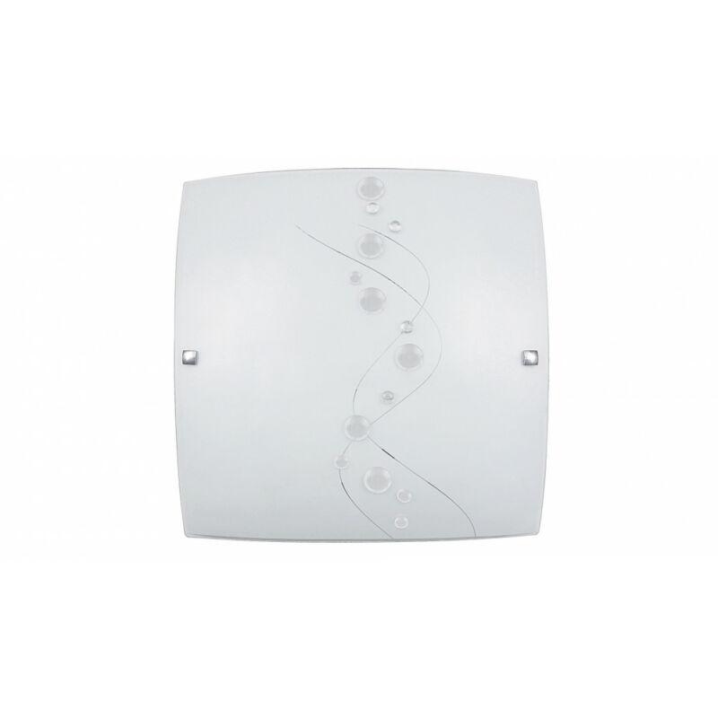 Rábalux Ruby 3756 mennyezeti lámpa fehér mintás fém E27 2x MAX 60 E27 2 db IP20
