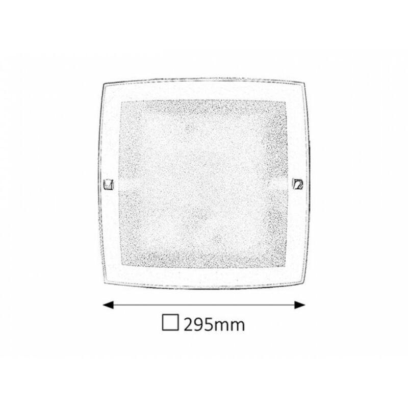 Rábalux Charles 3838 mennyezeti lámpa fehér fém E27 1x MAX 60 E27 1 db IP20