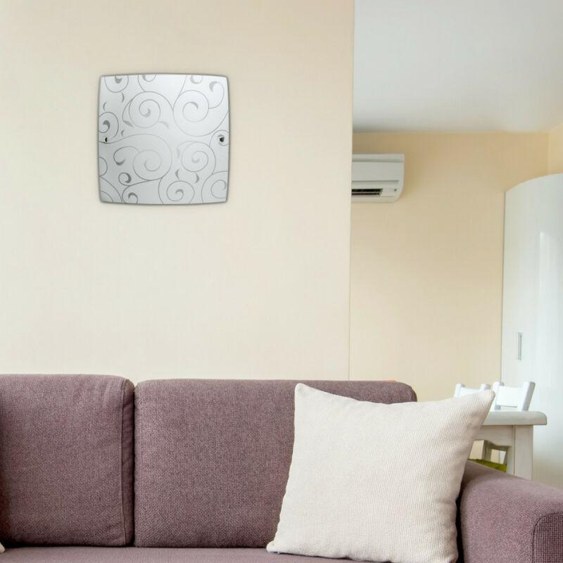 Rábalux Harmony Lux 3855 mennyezeti lámpa fehér mintás fém E27 2x MAX 60 E27 2 db IP20