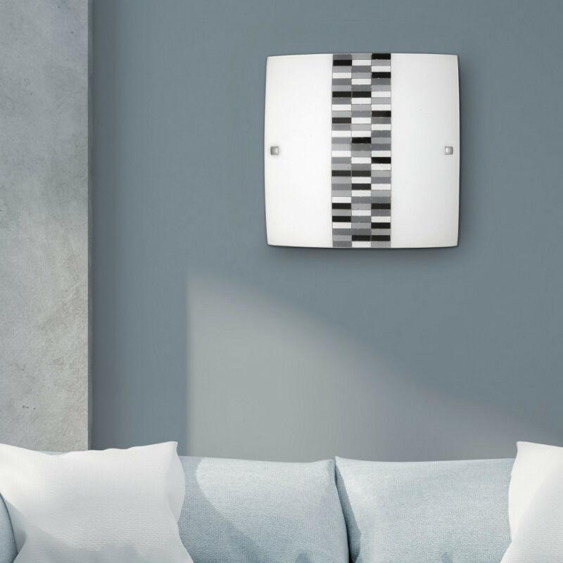 Rábalux Domino 3932 mennyezeti lámpa opál üveg fém E27 1x MAX 60 E27 1 db IP20