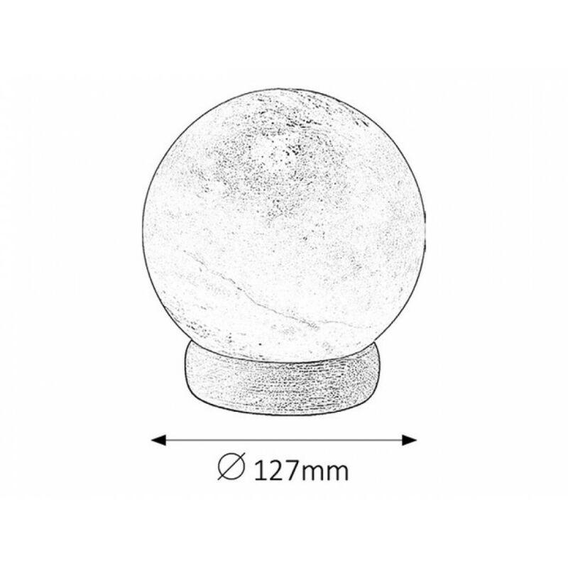 Rábalux Ozone 4093 sólámpa narancs kősó/ fa E14 1x MAX 15 E14 1 db 90 lm 2700 K IP20 G