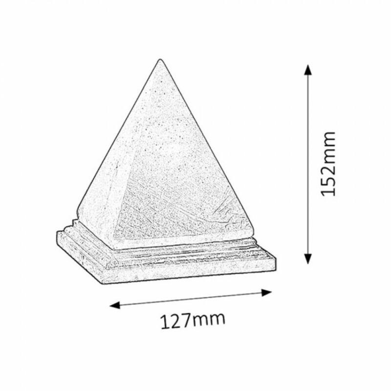 Rábalux Vesuvius 4096 sólámpa narancs kősó/ fa E14 1x MAX 15 E14 1 db 90 lm 2700 K IP20 G