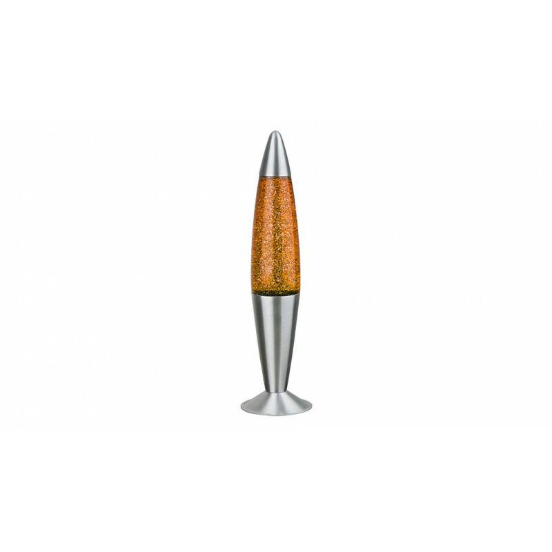 Rábalux Glitter 4114 lávalámpa narancs fém E14 G45 1x MAX 25 E14 1 db IP20