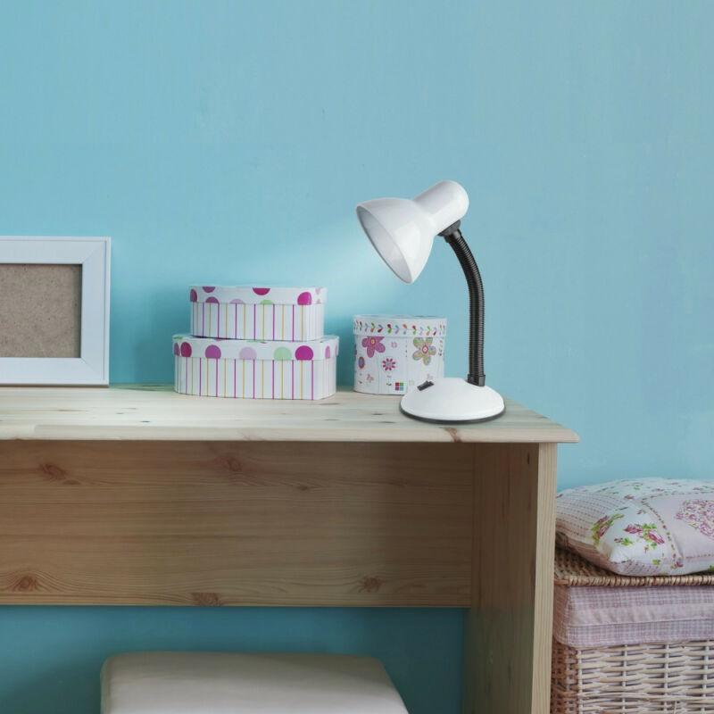 Rábalux Dylan 4168 íróasztal lámpa fehér fém E27 1x MAX 40 E27 1 db IP20