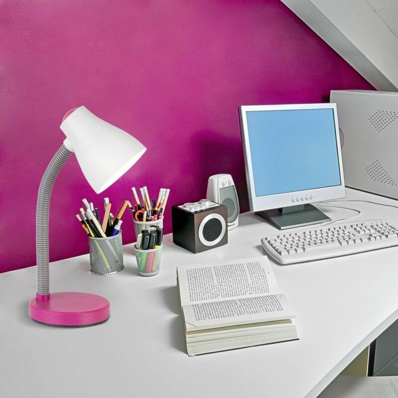 Rábalux Vincent 4177 íróasztal lámpa rózsa műanyag E27 1x MAX 15 E27 1 db 400 lm 3000 K IP20 A+