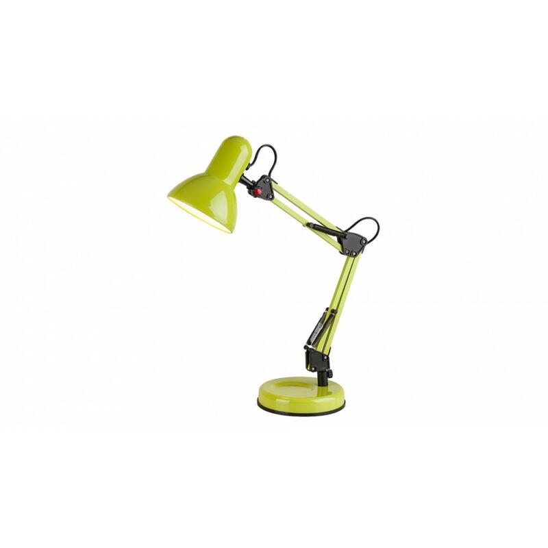 Rábalux Samson 4178 íróasztal lámpa zöld fém E27 1x MAX 60 E27 1 db IP20