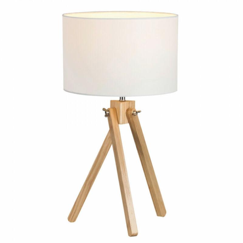 Rábalux Soren 4190 éjjeli asztali lámpa fehér fa E14 1x MAX 40 E14 1 db IP20