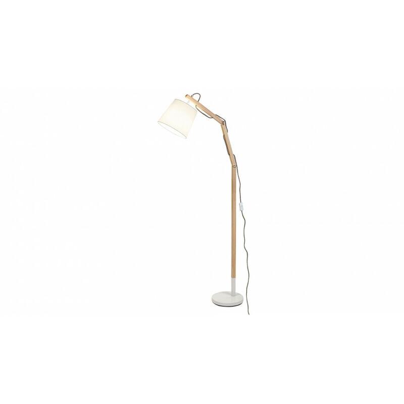 Rábalux Thomas 4192 állólámpa fehér fa E27 1x MAX 60 E27 1 db IP20