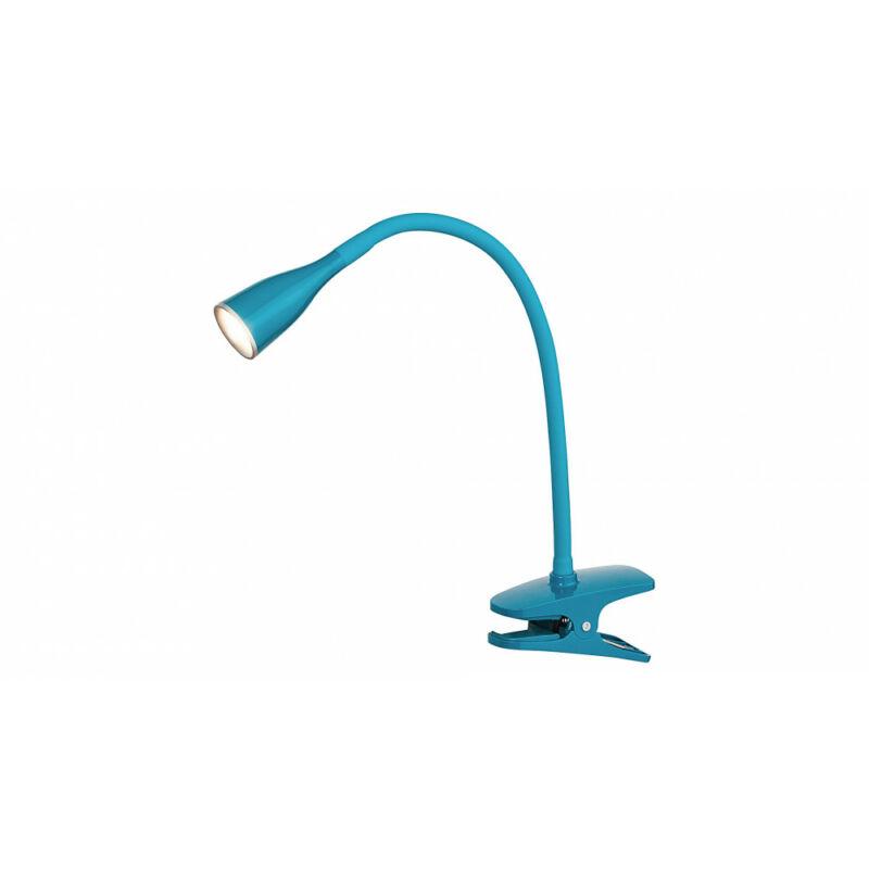 Rábalux Jeff 4195 csiptetős olvasólámpa kék műanyag LED 4,5 330 lm 3000 K IP20 A+
