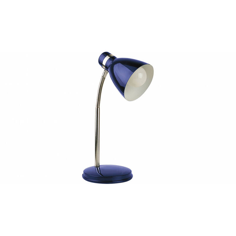Rábalux Patric 4207 íróasztal lámpa kék fém E14 1x MAX 40 E14 1 db IP20