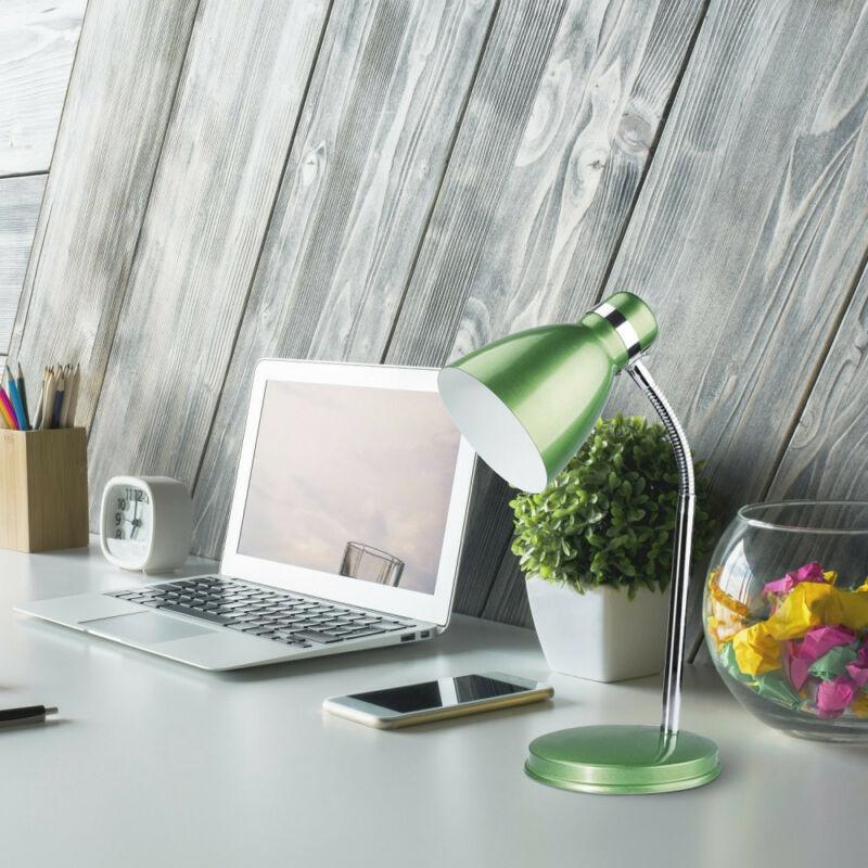 Rábalux Patric 4208 íróasztal lámpa zöld fém E14 1x MAX 40 E14 1 db IP20