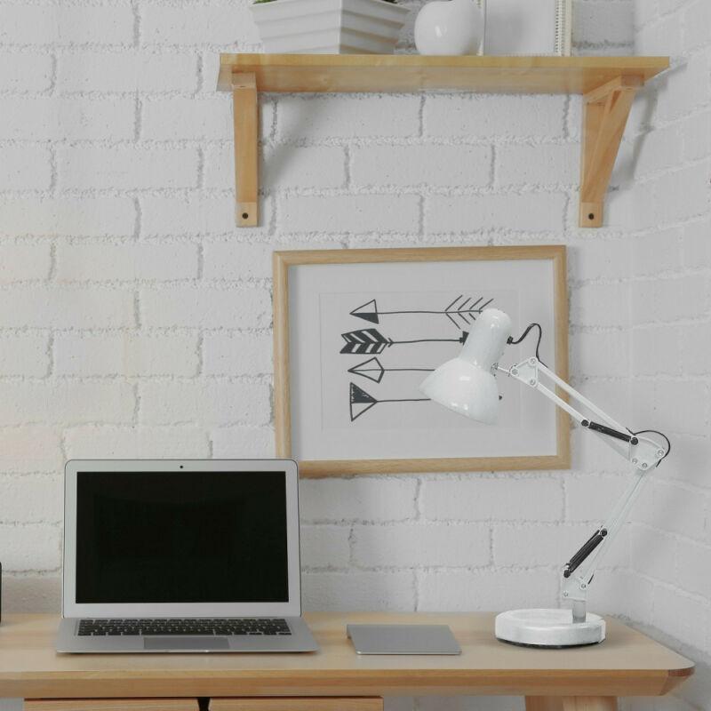 Rábalux Samson 4211 íróasztal lámpa fehér fém E27 1x MAX 60 E27 1 db IP20