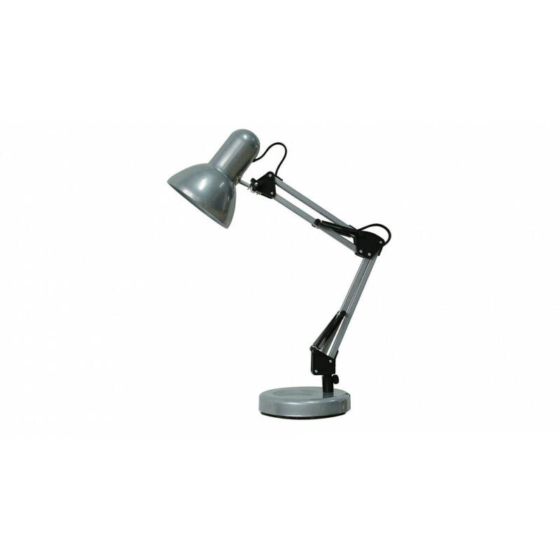 Rábalux Samson 4213 íróasztal lámpa ezüst fém E27 1x MAX 60 E27 1 db IP20