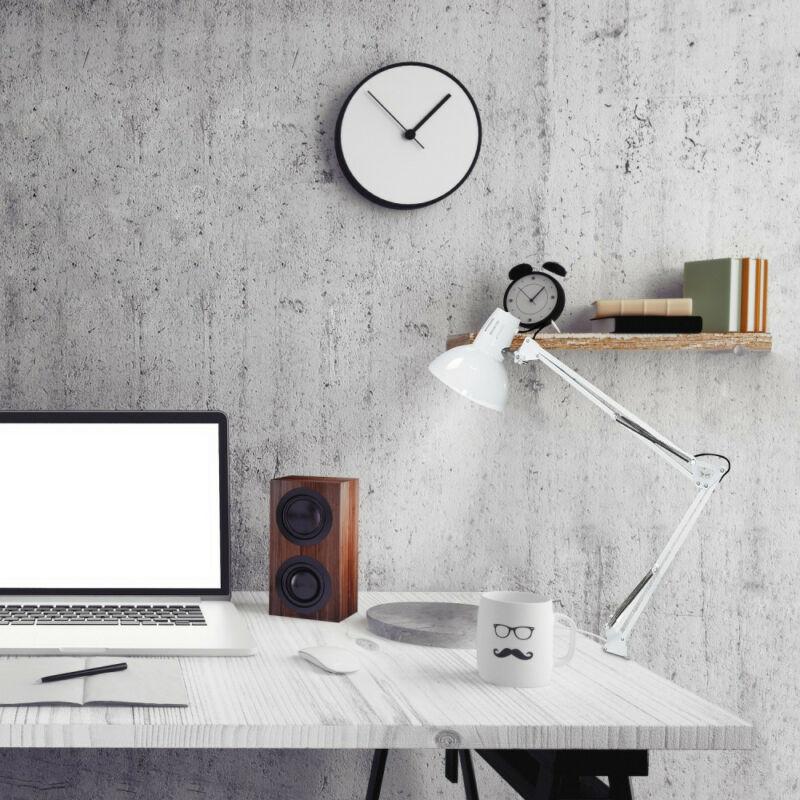 Rábalux Arno 4214 csiptetős asztali lámpa fehér fém E27 1x MAX 60 E27 1 db IP20